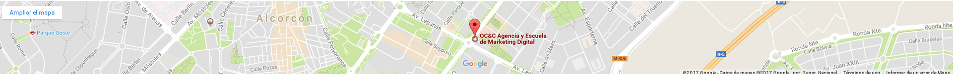 Mapa OC&C Agencia de Marketing 360