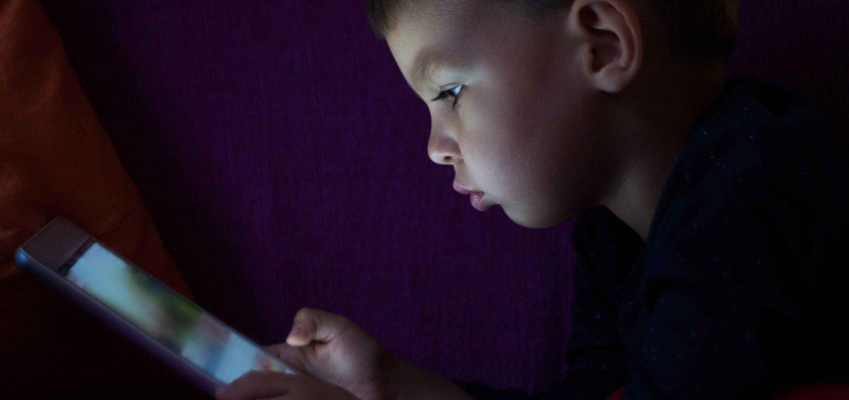 Consumo de Internet entre los menores de 14 años