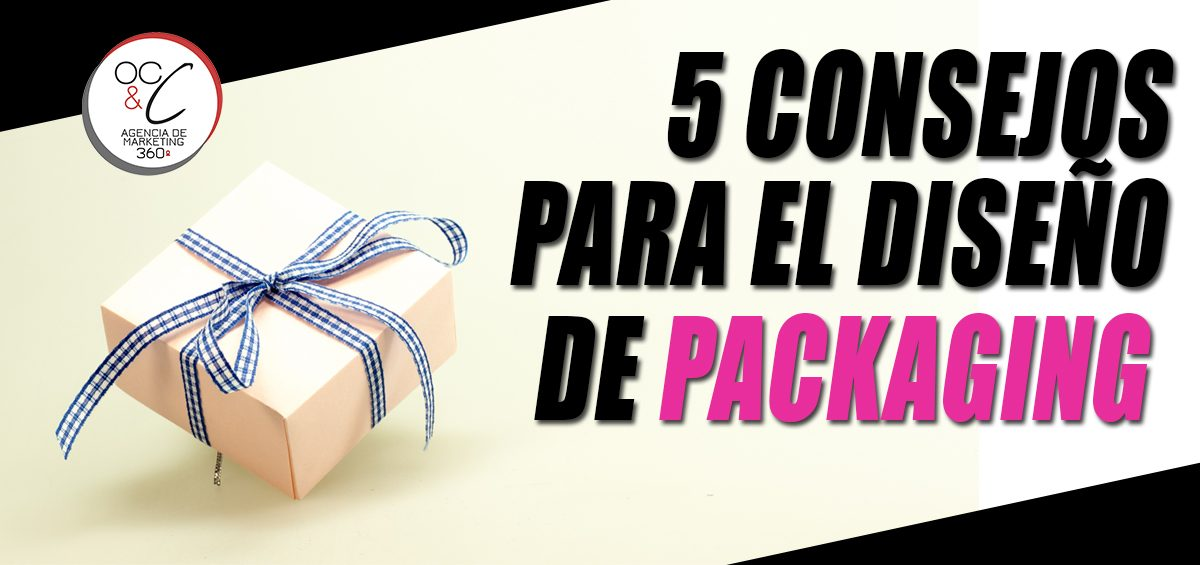 Diseño de packaging OC&C Agencia de marketing 360º