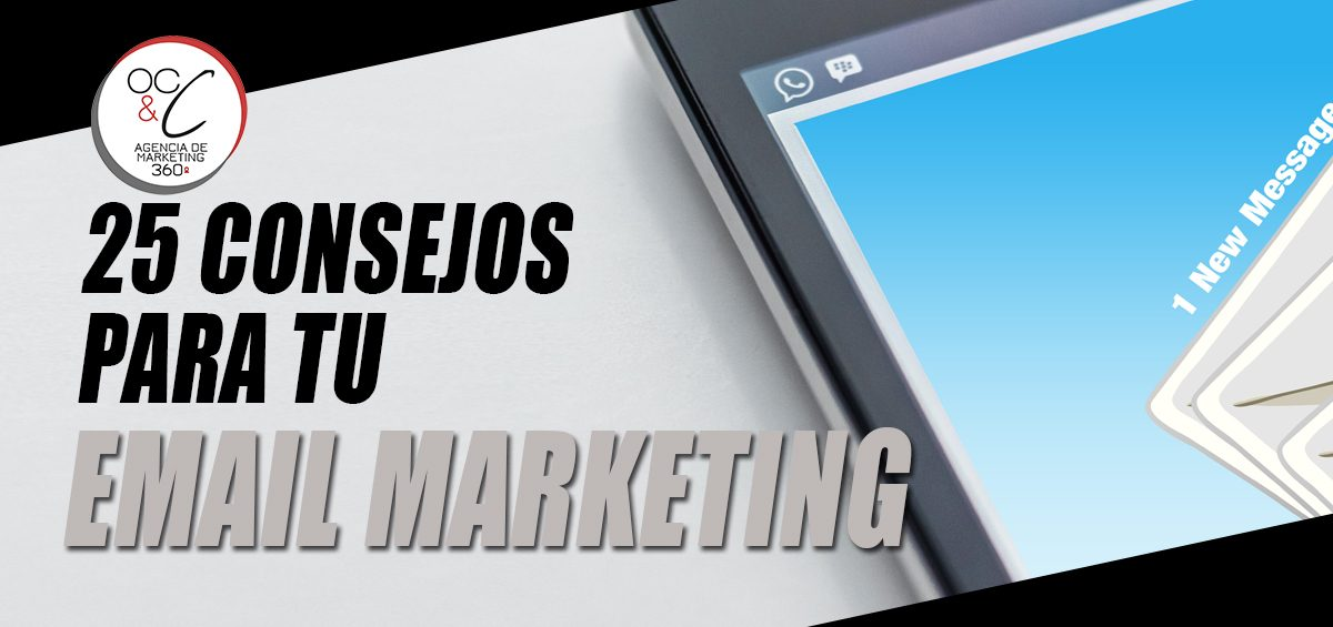 Email marketing OC&C Agencia de marketing 360º