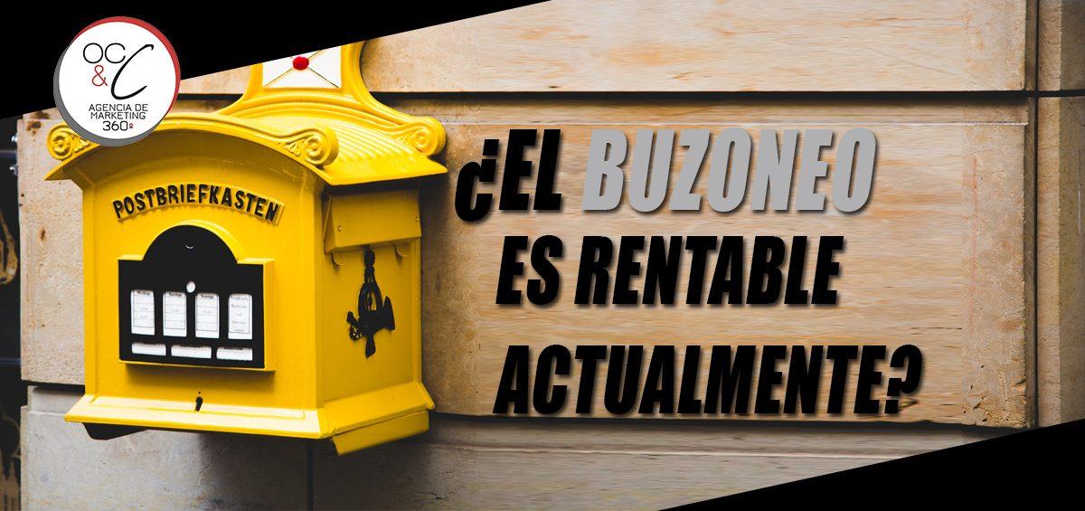 Buzoneo es rentable cabecera OC&C Agencia de Marketing 360º