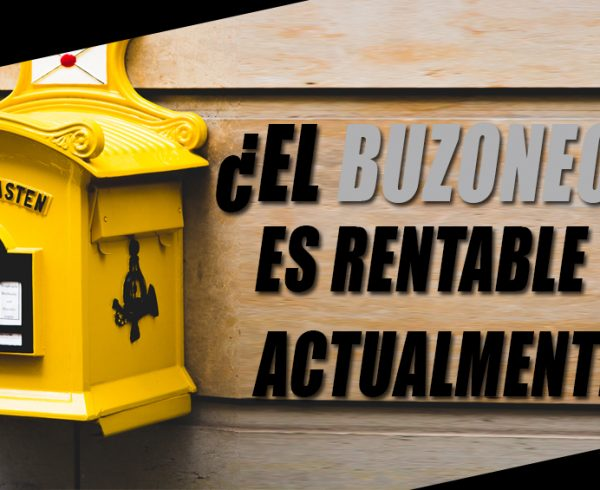 Buzoneo es rentable cabecera OC&C Agencia de Marketing 360º