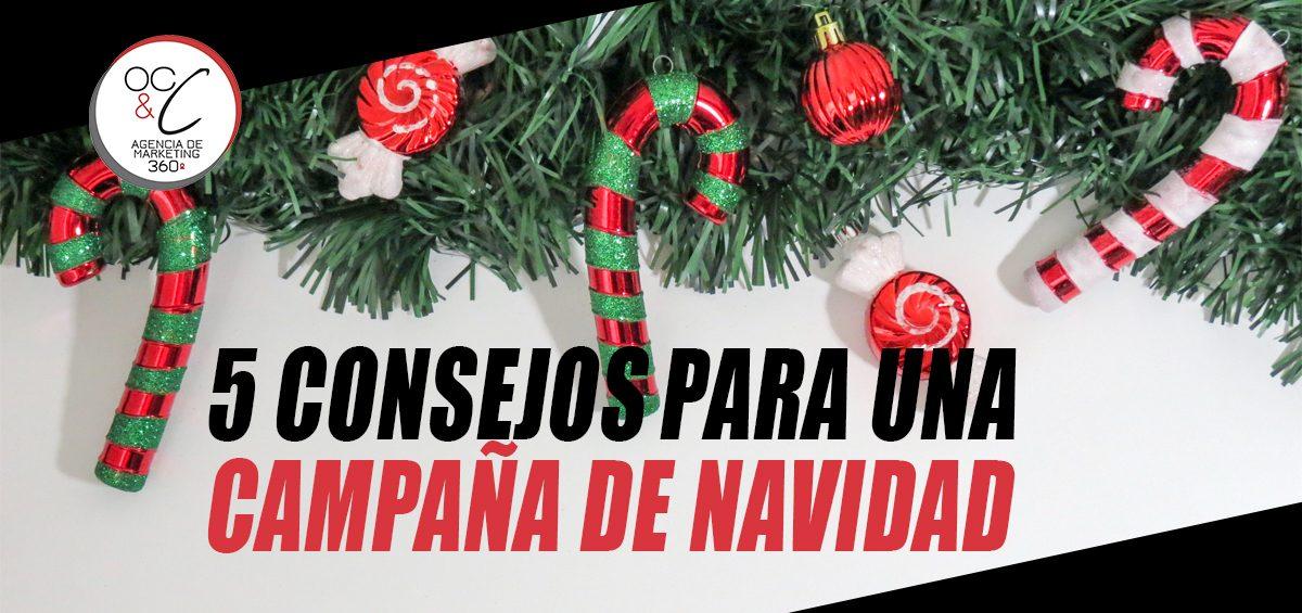 campaña de navidad OC&C Agencia de marketing 360º