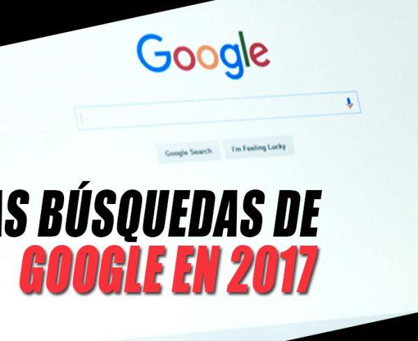 Busqueda Google en 2017 OC&C Agencia de marketing 360º