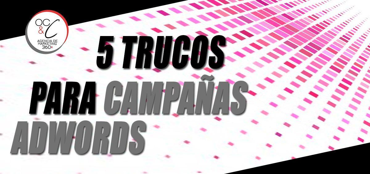 Campañas adwords OC&C Agencia de marketing 360º