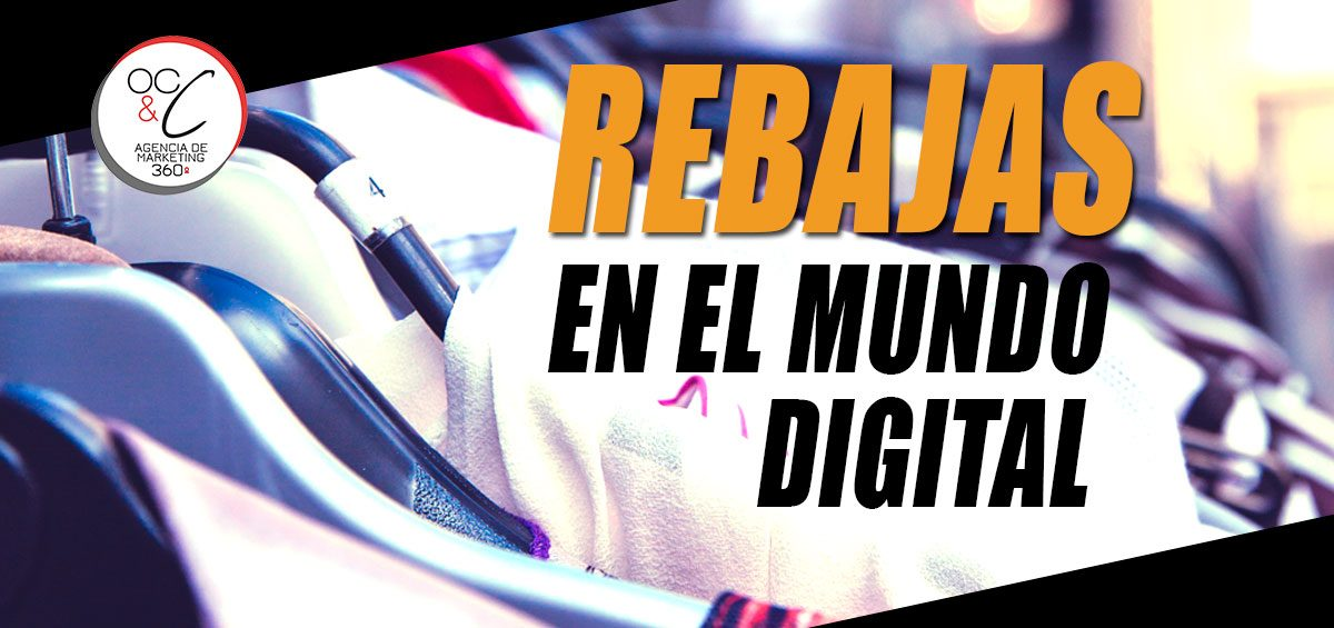 Rebajas ecommerce OC&C Agencia de marketing 360º