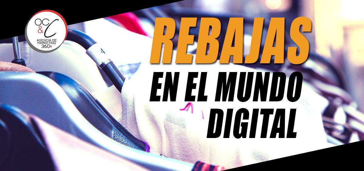 Rebajas ecommerce OC&C Agencia de marketing 360º