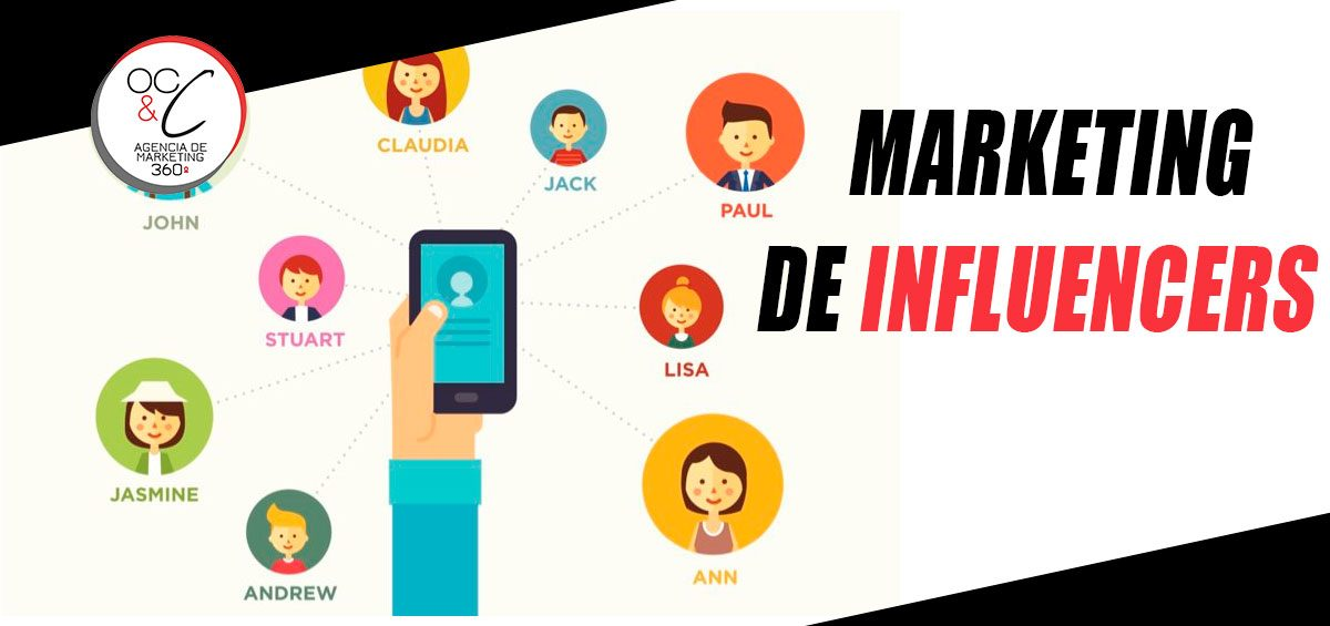 Marketing de Influencers OC&C Marketing 360º