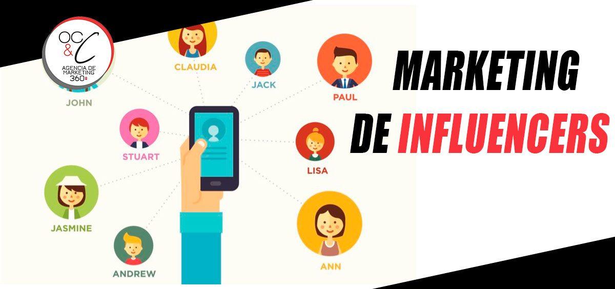 Marketing de Influencers OC&C Marketing 360º
