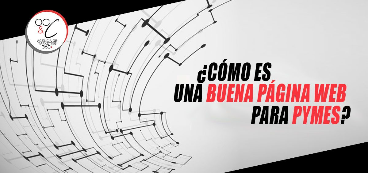Página web para pymes OC&C Agencia de Marketing 360º