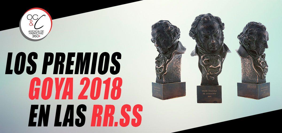 Premios Goya 2018 OC&C Agencia de Marketing 360º