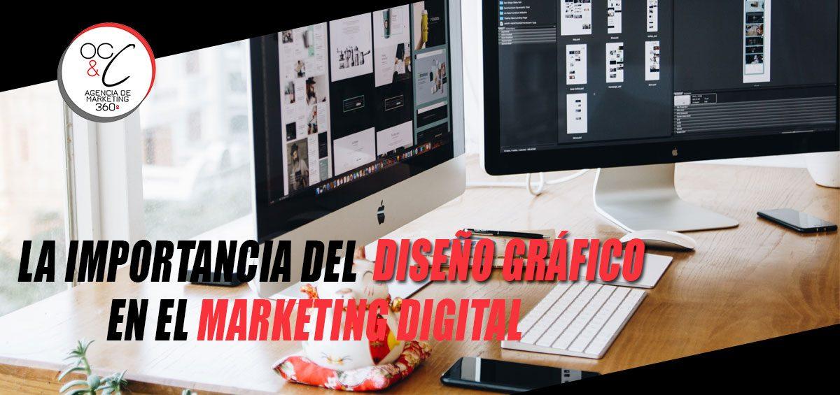 importancia del diseño gráfico en el marketing digital